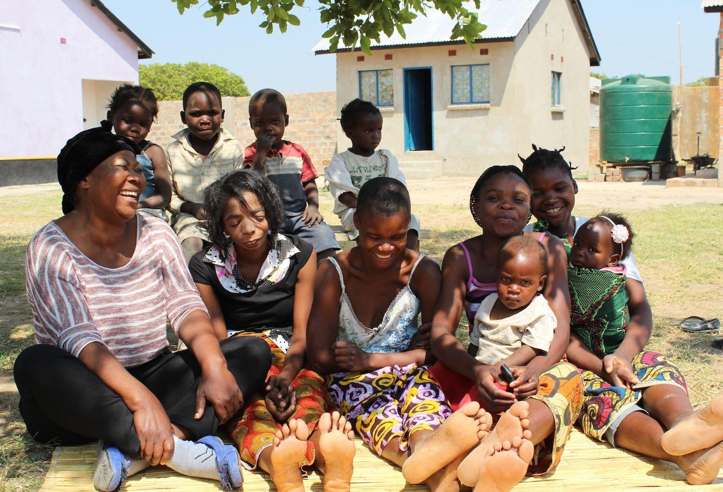 i+m Frauen im Frauenhaus Sambia