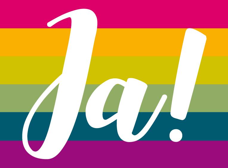 Ehe für alle – endlich!