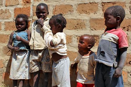 Frauenhaus Sambia Kinder