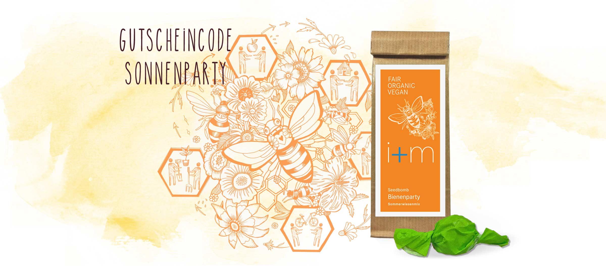 Seedbomb Bienenparty zur Rettung der Bienen