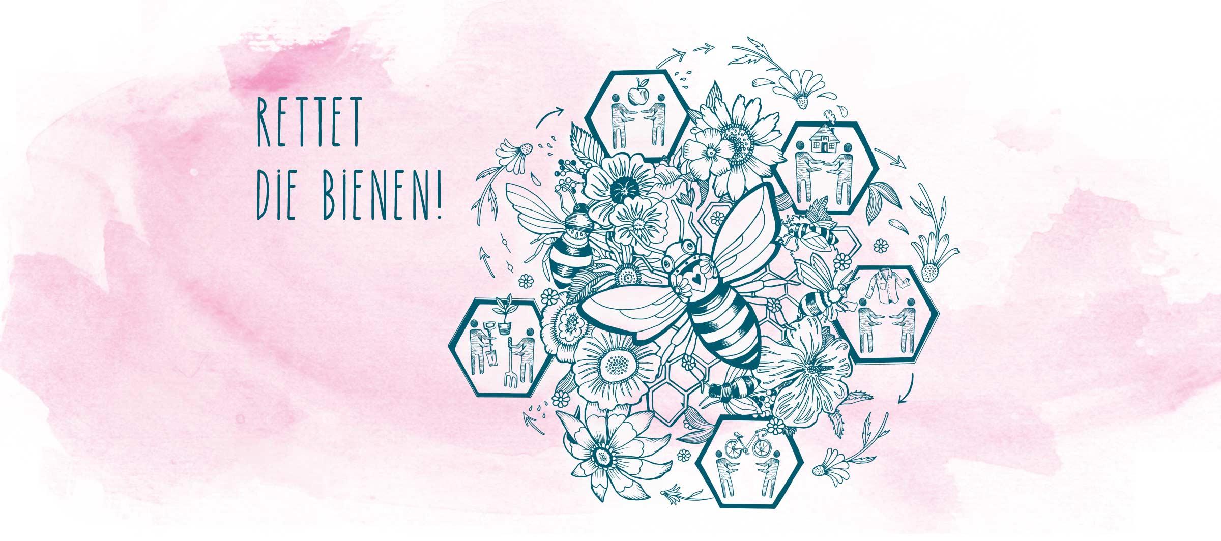 Rettet die Bienen - Tipps zum Bienenschutz von i+m