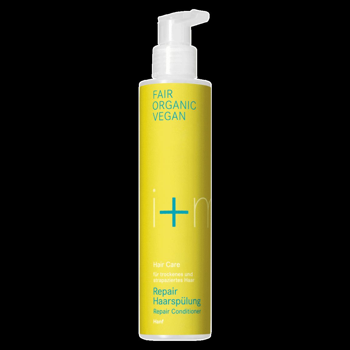 Hair Care Repair Haarspülung von i+m Naturkosmetik - fair bio vegan.