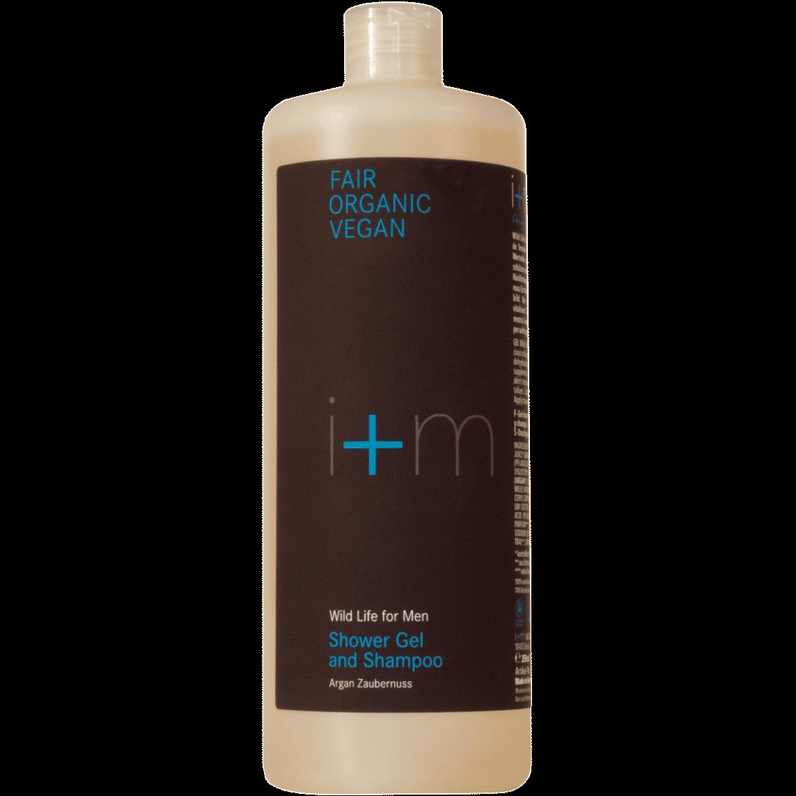 Nachfüllsystem Family Size Shower Gel and Shampoo Refill Körperpflege normale Haut von i+m Naturkosmetik - fair, bio, vegan.