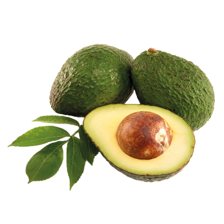 Die Avocado Frucht ist Rohstoff und natürlicher Inhaltsstoff von i+m Naturkosmetik - fair bio vegan.