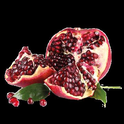 Die Granatapfel Frucht ist Rohstoff und natürlicher Inhaltsstoff von i+m Naturkosmetik - fair bio vegan.