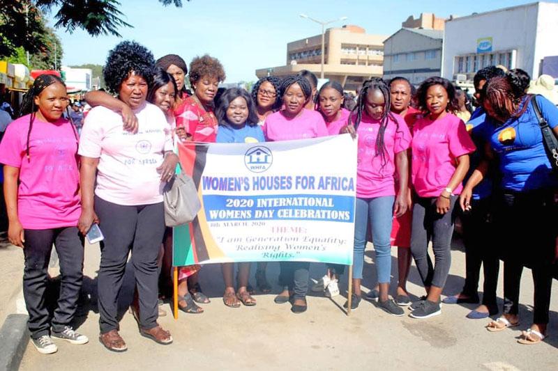 Internationaler Frauentag 2020 in Sambia
