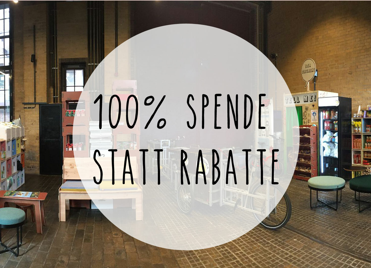 spende statt rabatte am black friday von i+m Naturkosmetik Berlin