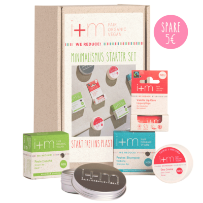 WE REDUCE! Starter Kit von i+m NATURKOSMETIK BERLIN