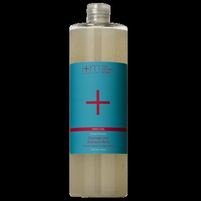 Freistil Shower Gel & Shampoo Refill 1l i+m NATURKOSMETIK BERLIN