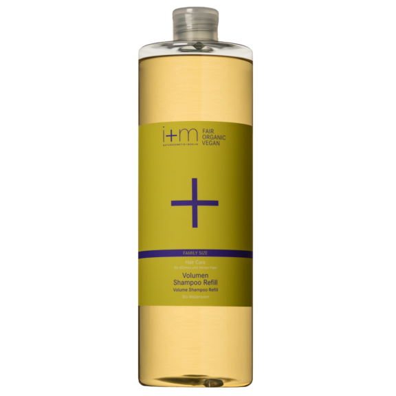 Hair Care Volumen Shampoo Refill 1l i+m NATURKOSMETIK BERLIN Shampoo Refill 1l i+m NATURKOSMETIK BERLIN