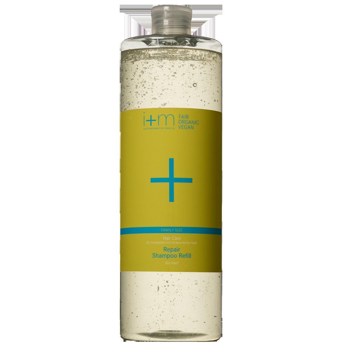 Hair Care Repair Shampoo Refill 1l i+m NATURKOSMETIK BERLIN