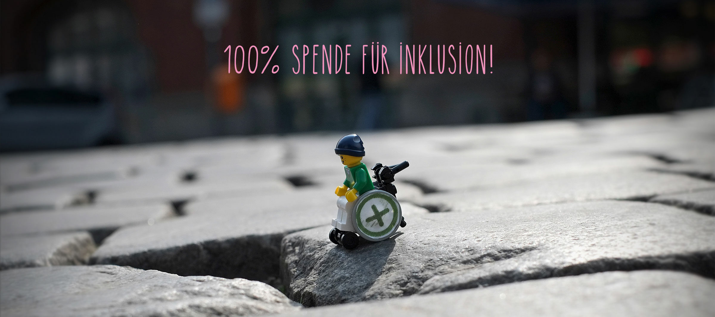 100% Spenden für Inklusion von i+m Naturkosmetik!