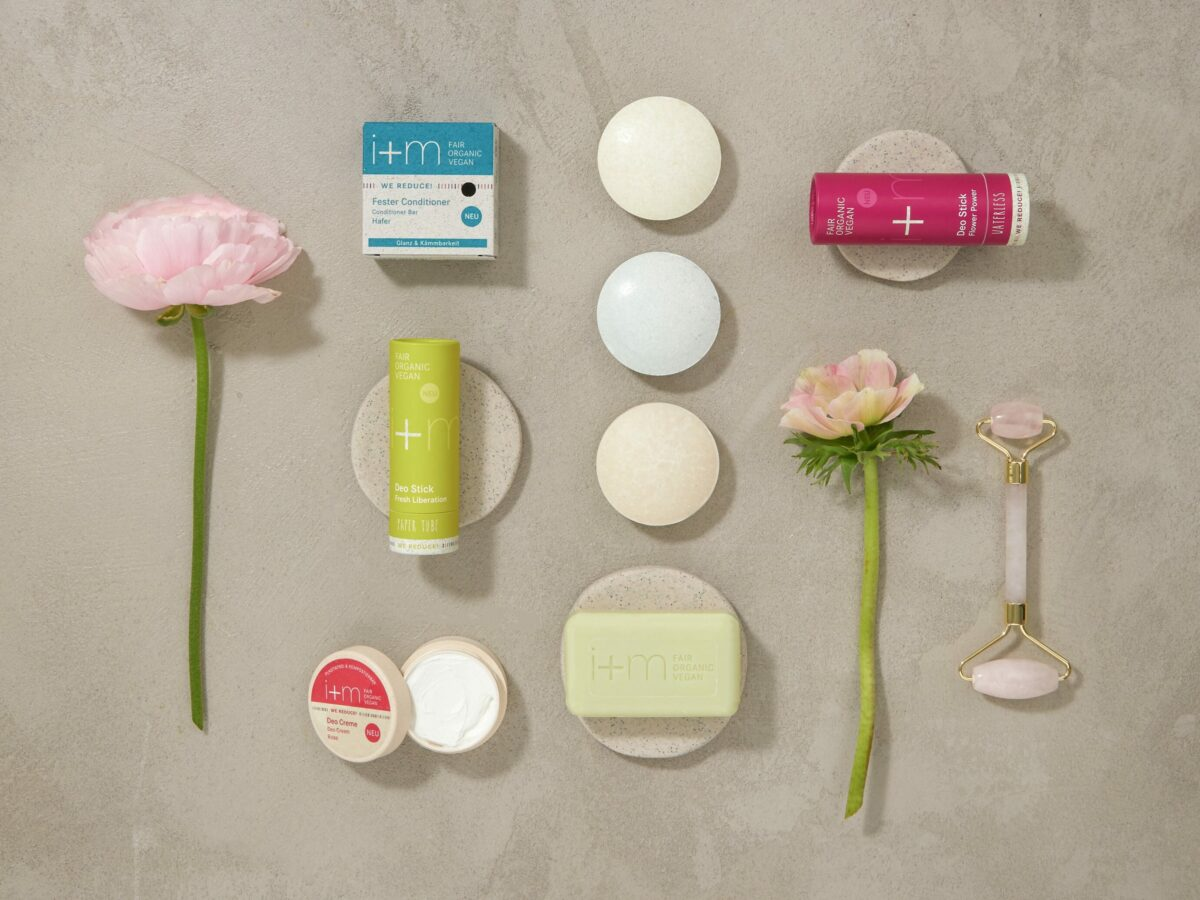 Plastikfreies Badezimmer mit i+m We Reduce Serie